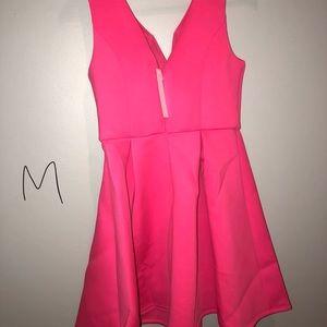 Medium Pink Flare Dress